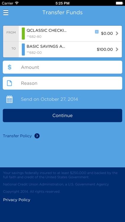 Quorum Mobile Banking screenshot-3