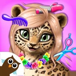 Jungle Animal Hair Salon!