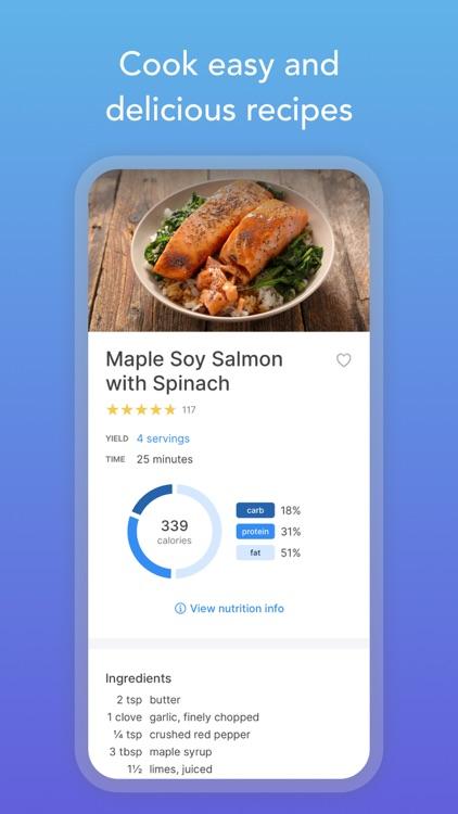Intent - Healthy Meal Plan screenshot-3
