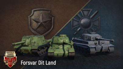 Screenshot for Battle Tanks: 3D Tank Games in Denmark App Store