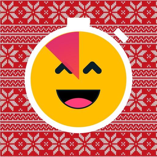 Christmas Emoji Timer