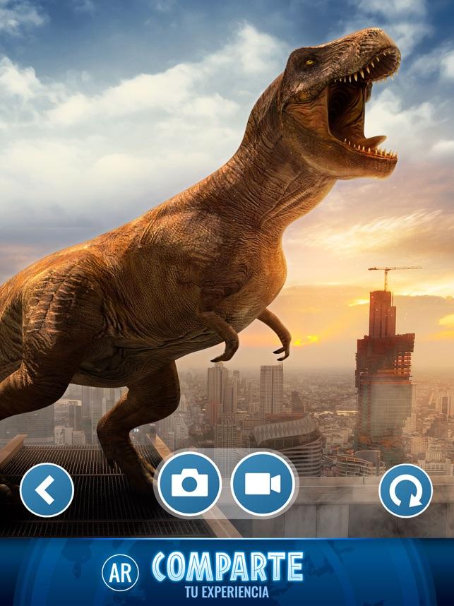 Jurassic World Alive En App Store La jugabilidad de jurassic world alive es prácticamente la misma que la del juego de pokémon. jurassic world alive en app store