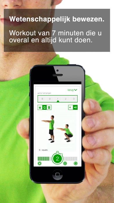 workout van 7 minuten iPhone app afbeelding 1