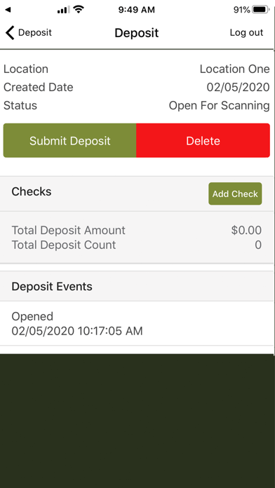 FNBDC Mobile Deposit screenshot #2