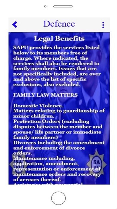 点击获取South African Policing Union
