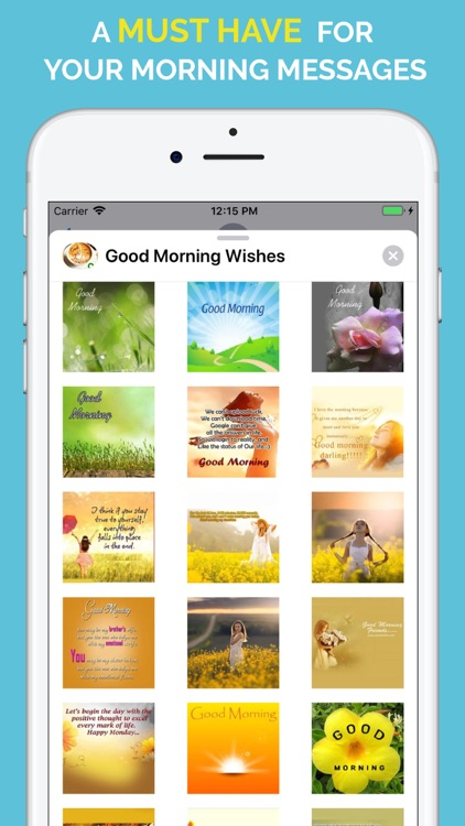Good Morning Wishes Stickers screenshot-7