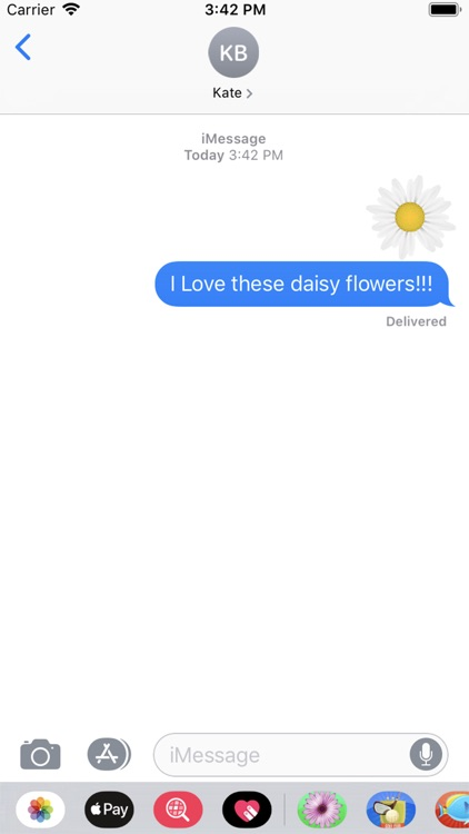 Flowers Emojis Stickers