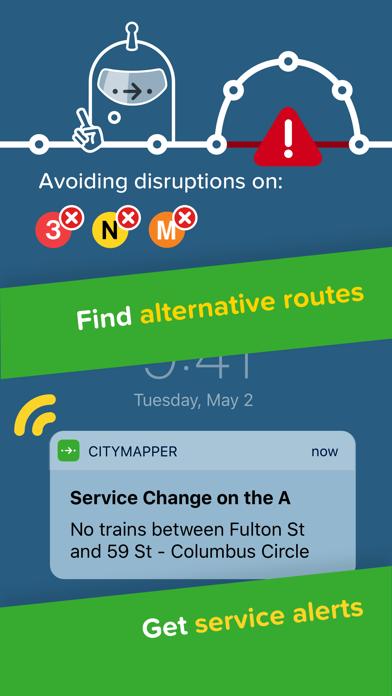 Citymapper review screenshots