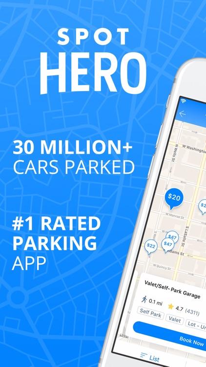 SpotHero: #1 Rated Parking App screenshot-0