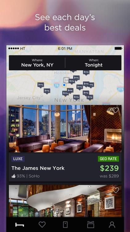 HotelTonight - Hotel Deals screenshot-0