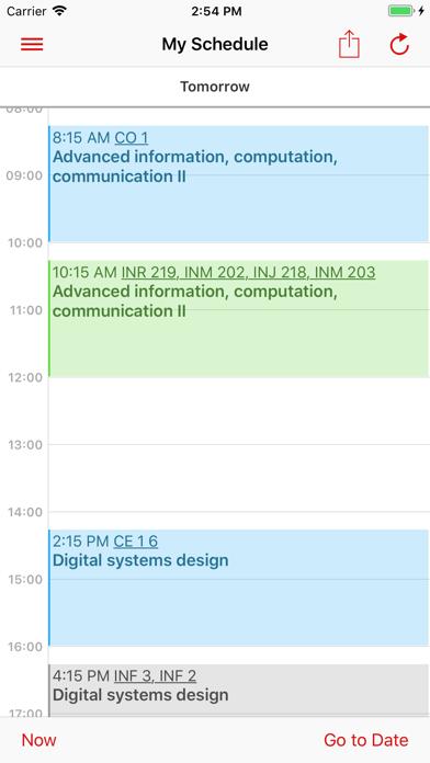 messages.download EPFL Campus software