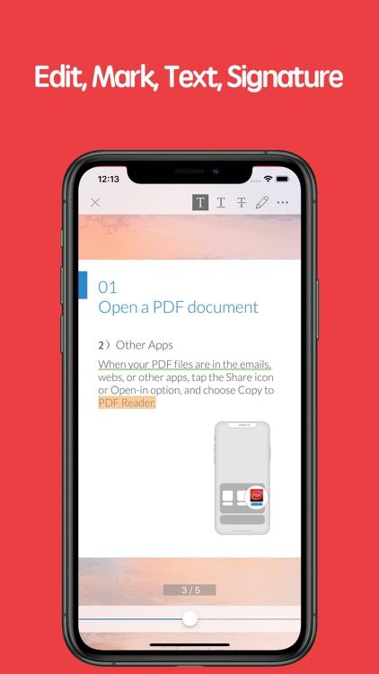 PDF Reader - Edit And Storage