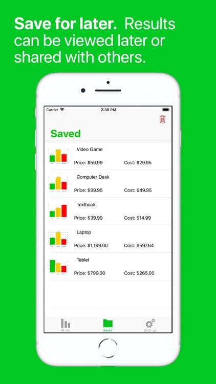 Profit Finder - Fee Calculator screenshot-4