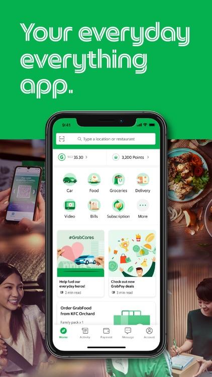 Grab: Food, Grocery, Ride, Pay screenshot-0