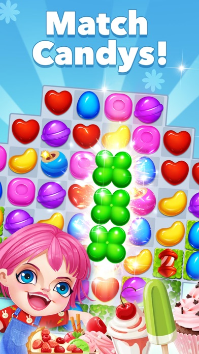 Download Candy Frenzy - Match Sugar for Pc