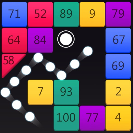 Rainbow Bricks Breaker iOS App