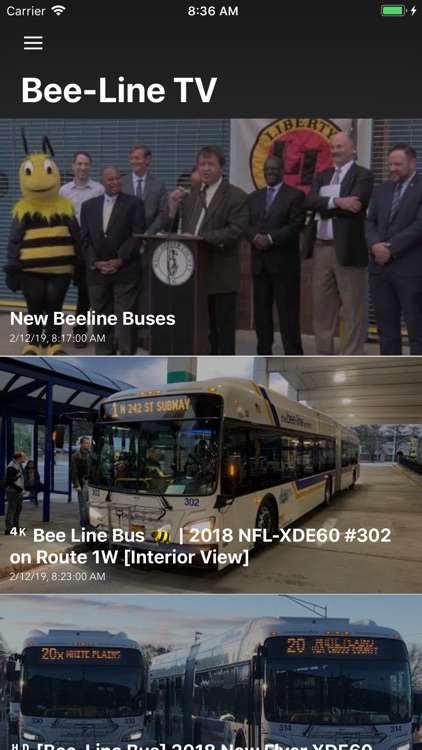 Bee Line Bus screenshot-3