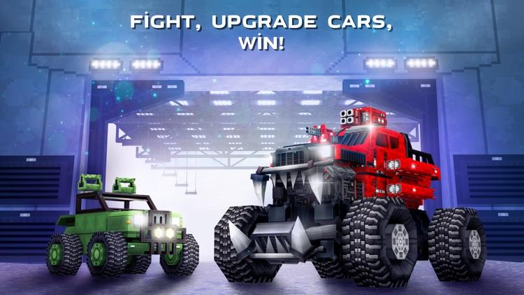 Blocky Cars - pixel shooter screenshot-5