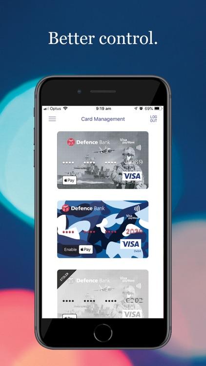 Defence Bank Mobile screenshot-5