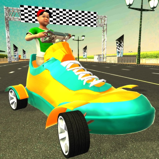 Furious Shoes Car Racing 3D