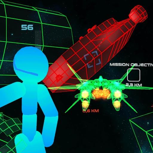 Stickman Space Fighter