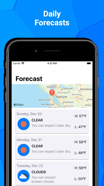 Weather - Forecasts