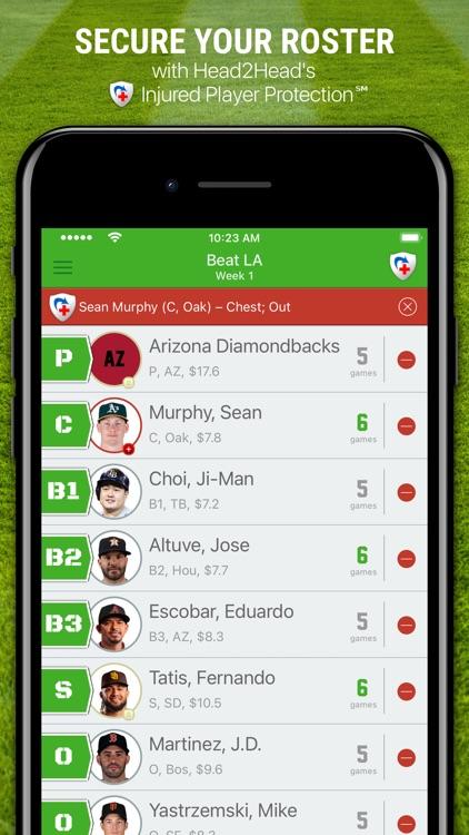 H2H Fantasy Baseball screenshot-7