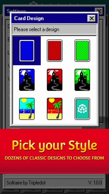 Solitaire 95: The Classic Game screenshot-3