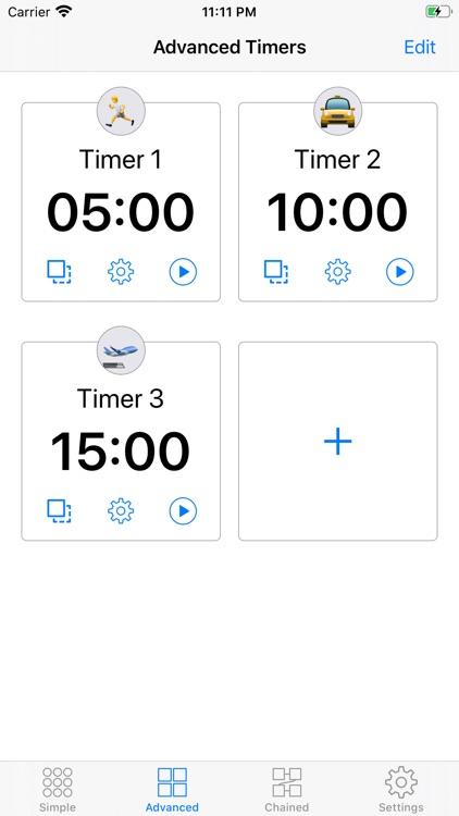 1Timer - Voice Timer screenshot-1