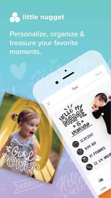 Little Nugget: Baby Milestones app image