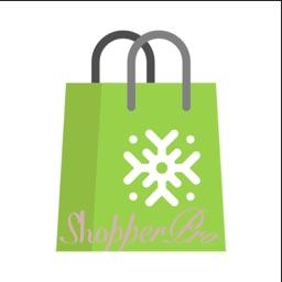 ShopperPro Ad - Shopping list.