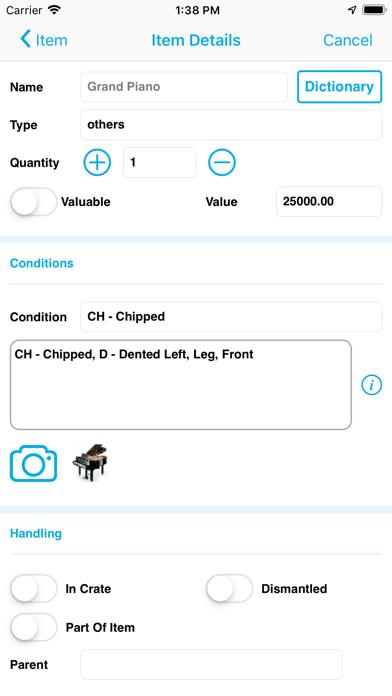 Voxme Inventory screenshot three