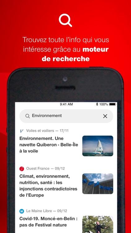 Ouest-France, l'info en direct screenshot-8