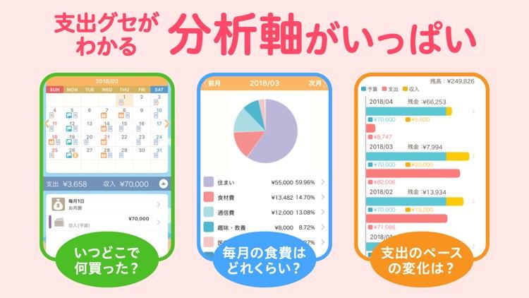 家計簿レシーピ! レシート読み取り・家計簿アプリ