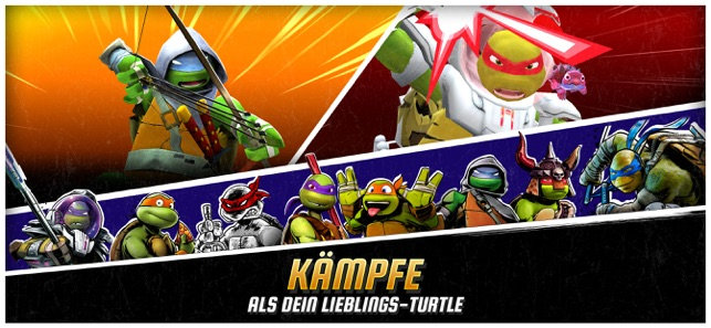 ‎Ninja Turtles: Legends Screenshot