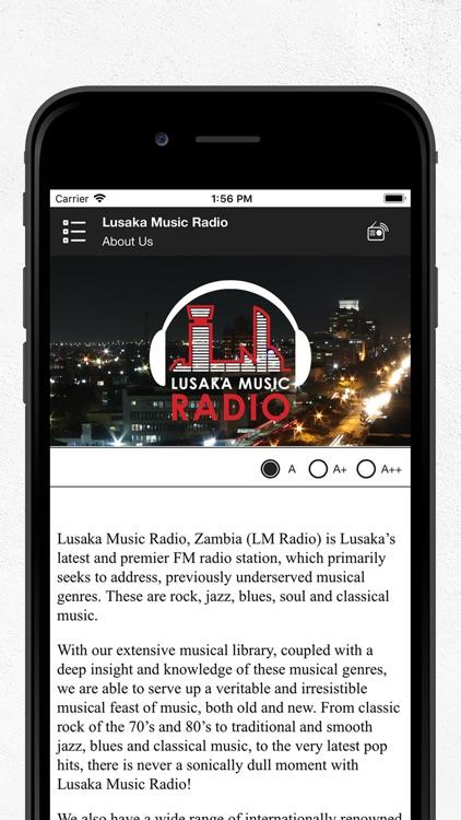 Lusaka Music Radio screenshot-3
