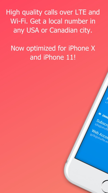 Shuffle - 2nd Phone Number screenshot-0