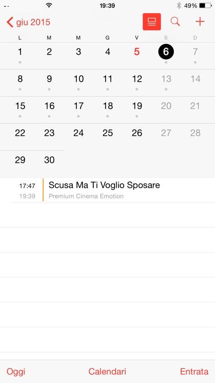 Italian TV Schedule screenshot-6