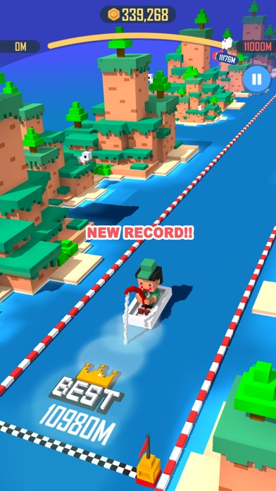 Jump Rider: Crazy Boat screenshot 4