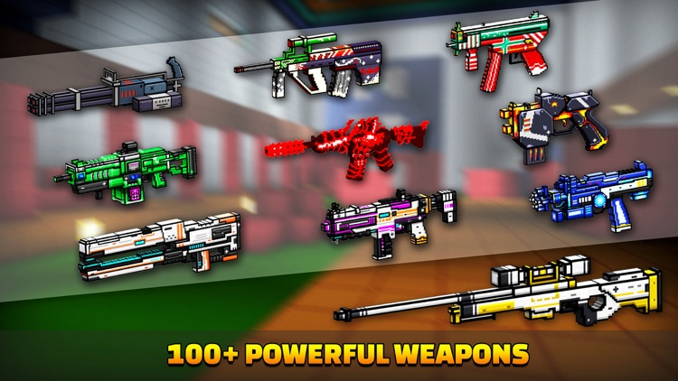 Cops N Robbers (FPS): 3D Pixel screenshot-4