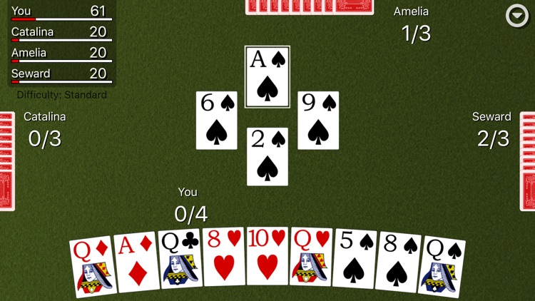 Spades Card Classic screenshot-4