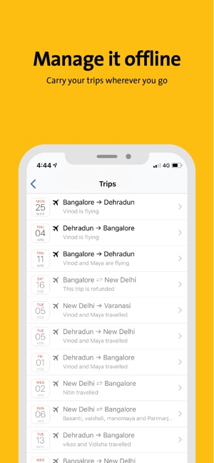 Cleartrip na App Store