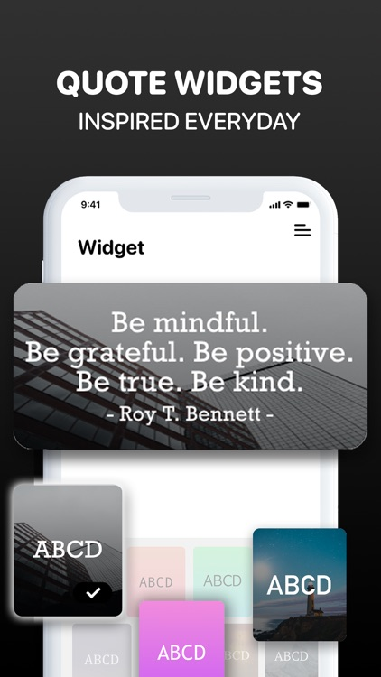 Motivation Widget Daily Quotes screenshot-0