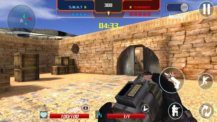 Critical strike shooting games