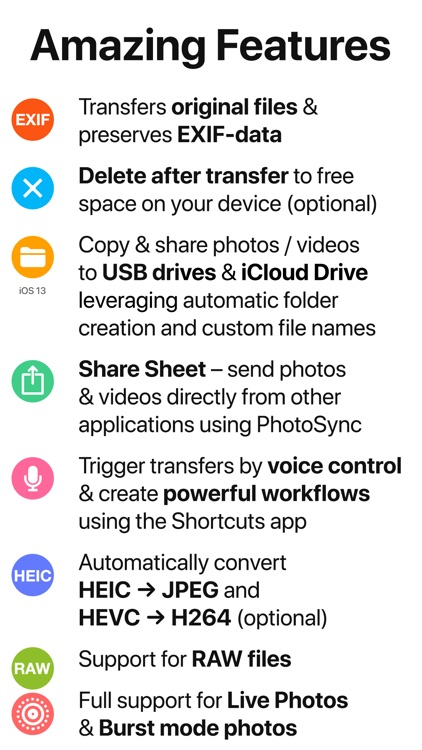PhotoSync – transfer photos screenshot-5