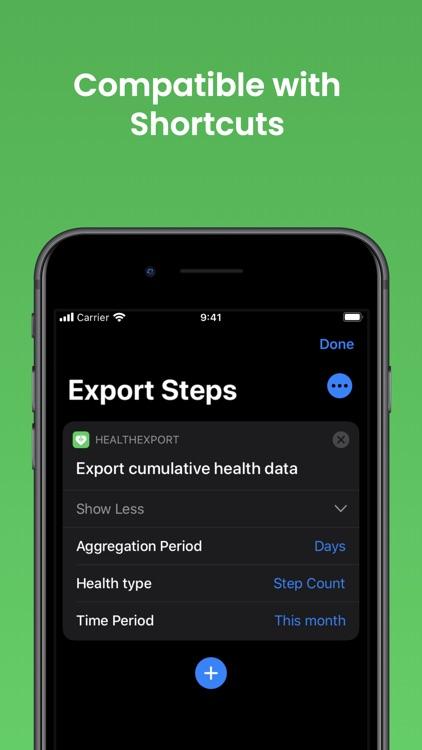 Health Export CSV