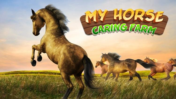 My Little Horse Caring Farm 3D screenshot-5