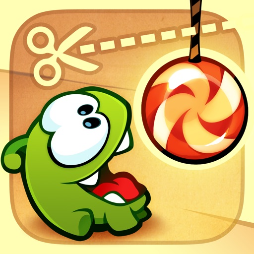 Cut the Rope free software for iPhone and iPad