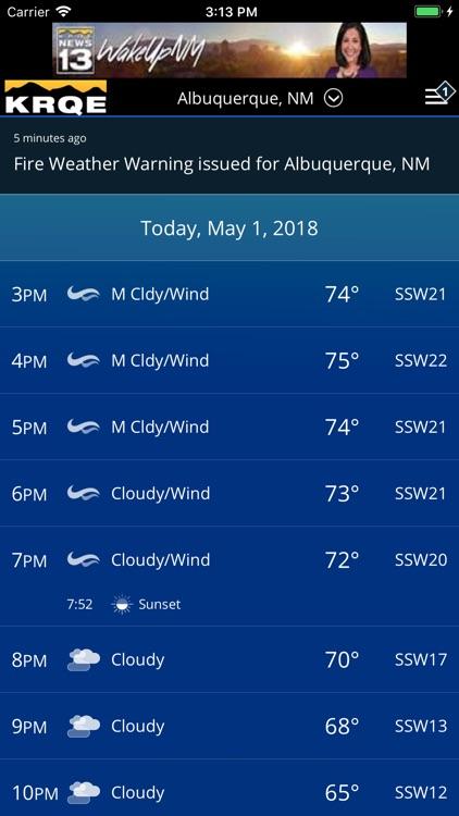 KRQE Weather - Albuquerque screenshot-3