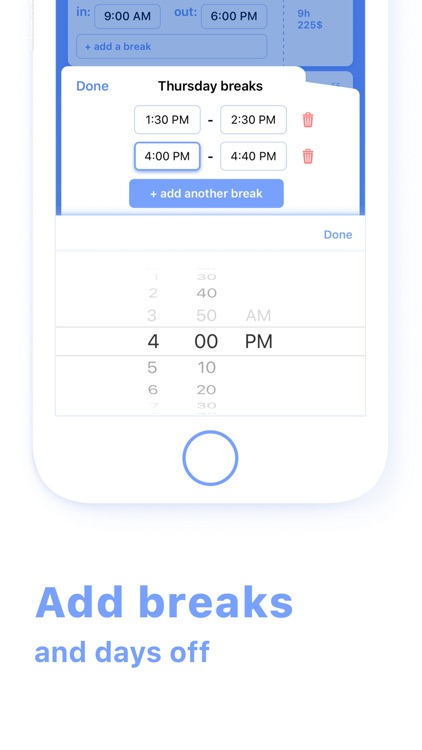 Work Hours & Pay Calculator screenshot-3